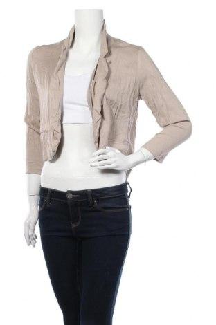 Дамска жилетка Jeanswest, Размер S, Цвят Бежов, Вискоза, Цена 6,83лв.