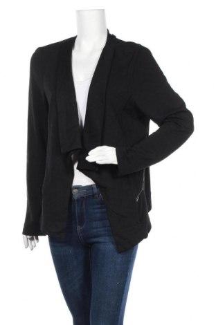 Дамска жилетка Katies, Размер XL, Цвят Черен, 62% вискоза, 32% полиестер, 6% еластан, Цена 25,20лв.