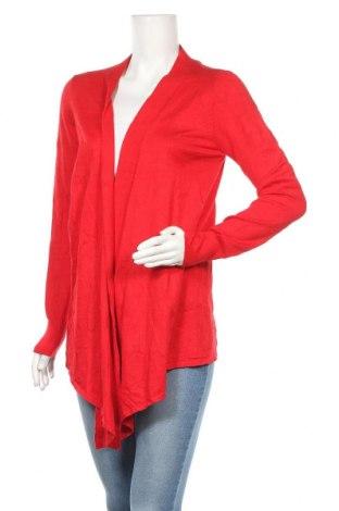 Дамска жилетка Lilia, Размер S, Цвят Червен, 75% памук, 25% полиамид, Цена 8,45лв.