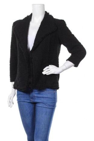 Дамска жилетка Premise, Размер S, Цвят Черен, 66% памук, 34% полиестер, Цена 11,34лв.