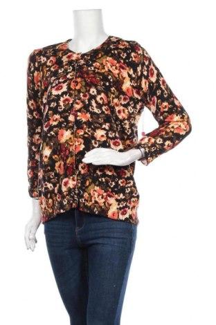 Дамска жилетка Rafaella, Размер L, Цвят Многоцветен, 60% памук, 40% вискоза, Цена 35,91лв.