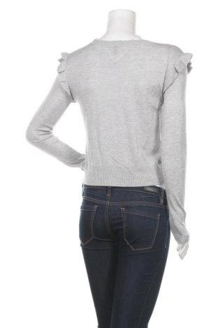 Дамска жилетка Teddy Smith, Размер S, Цвят Сив, 40% модал, 30% полиестер, 20% акрил, 10% вълна, Цена 15,87лв.