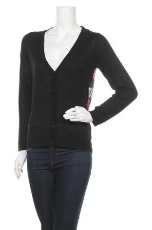 Дамска жилетка Teddy Smith, Размер S, Цвят Черен, Модал, полиестер, Цена 15,87лв.