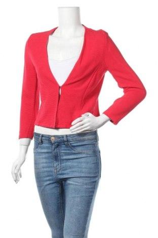 Дамска жилетка Tom Tailor, Размер M, Цвят Червен, 80% вискоза, 18% полиестер, 2% еластан, Цена 9,19лв.