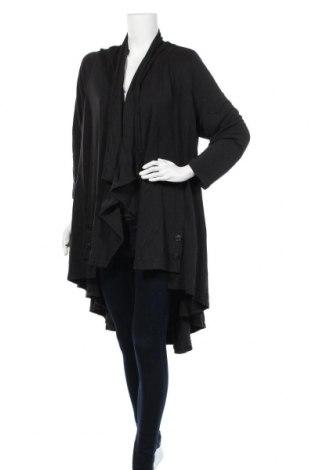 Дамска жилетка Ts, Размер S, Цвят Черен, 70% модал, 30% полиестер, Цена 13,70лв.