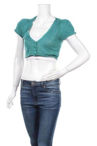 Γυναικεία ζακέτα Valley Girl, Μέγεθος L, Χρώμα Πράσινο, Ακρυλικό, μέταλλο, Τιμή 4,77€