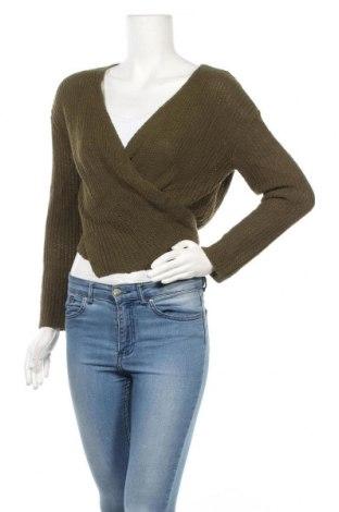 Дамска жилетка White Closet, Размер M, Цвят Зелен, Полиестер, вискоза, Цена 16,38лв.