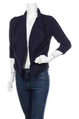 Дамска жилетка Zenana Outfitters, Размер M, Цвят Син, 95% полиестер, 5% еластан, Цена 12,29лв.