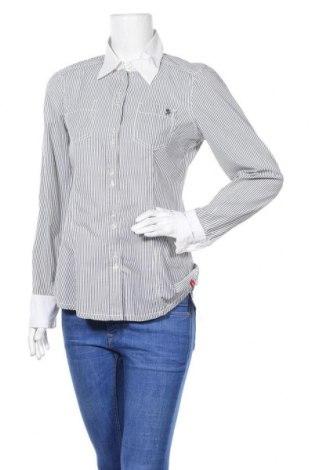 Дамска риза Edc By Esprit, Размер S, Цвят Сив, 100% памук, Цена 11,52лв.