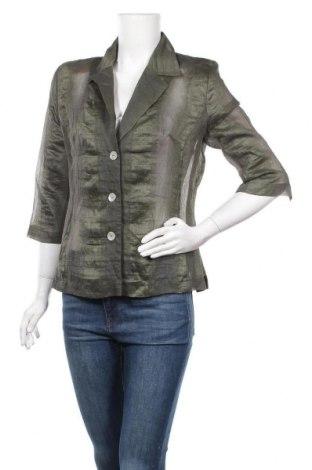 Дамска риза Franco Callegari, Размер M, Цвят Зелен, Цена 5,51лв.