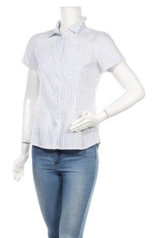 Дамска риза H&M L.O.G.G., Размер M, Цвят Бял, Памук, Цена 14,49лв.