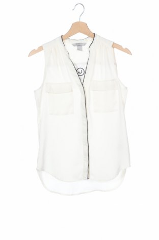 Дамска риза H&M Conscious Collection, Размер XS, Цвят Бял, Полиестер, Цена 9,24лв.