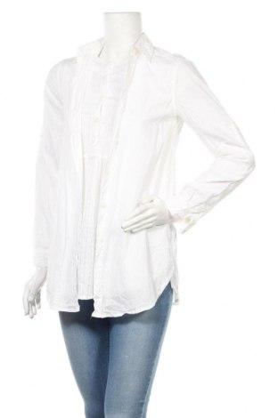 Дамска риза Mango, Размер S, Цвят Бял, Памук, Цена 19,50лв.