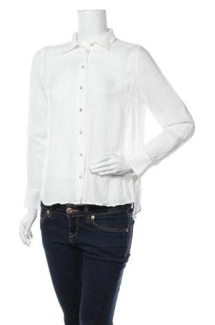 Γυναικείο πουκάμισο Massimo Dutti, Μέγεθος M, Χρώμα Λευκό, 88% βισκόζη, 12% μαλλί, Τιμή 19,30€