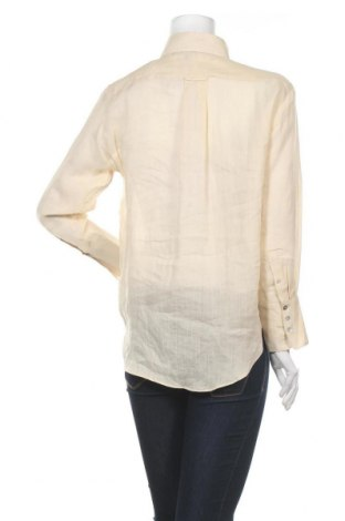 Дамска риза Massimo Dutti, Размер XS, Цвят Бежов, Рамия, Цена 57,00лв.