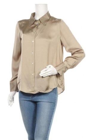 Γυναικείο πουκάμισο Massimo Dutti, Μέγεθος L, Χρώμα  Μπέζ, 75% βισκόζη, 25% lyocell, Τιμή 15,14€