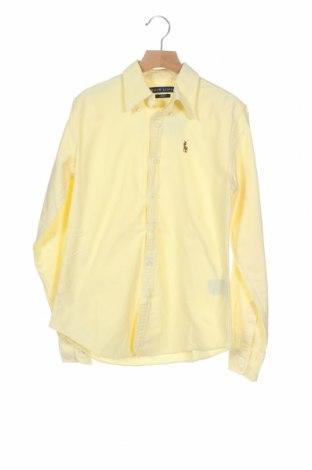 Дамска риза Ralph Lauren, Размер XS, Цвят Жълт, Памук, Цена 31,50лв.