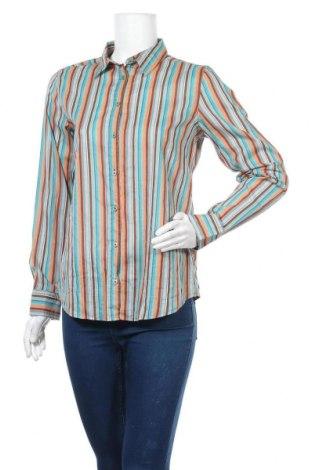 Дамска риза United Colors Of Benetton, Размер S, Цвят Многоцветен, Памук, Цена 19,32лв.