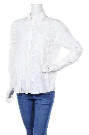 Дамска риза Zara, Размер S, Цвят Бял, Полиестер, Цена 16,20лв.