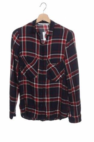 Дамска риза Zara Trafaluc, Размер XS, Цвят Многоцветен, Вискоза, Цена 21,00лв.