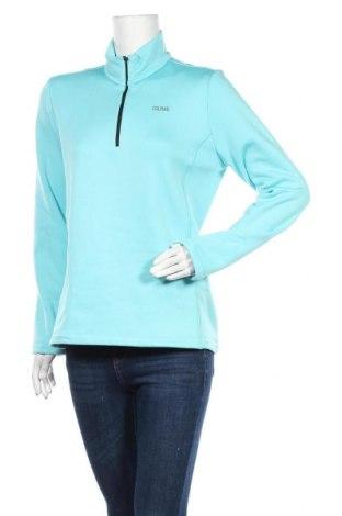 Γυναικεία αθλητική μπλούζα Colmar, Μέγεθος L, Χρώμα Μπλέ, 95% πολυεστέρας, 5% ελαστάνη, Τιμή 37,46€