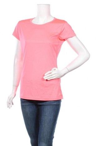 Дамска тениска, Размер L, Цвят Розов, Полиестер, Цена 7,56лв.