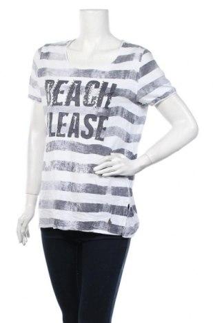 Дамска тениска, Размер XL, Цвят Бял, Памук, Цена 16,80лв.