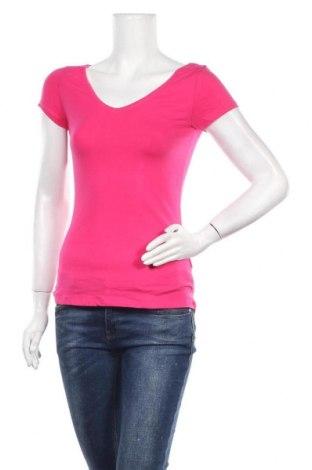 Дамска тениска Atmosphere, Размер S, Цвят Розов, 95% памук, 5% еластан, Цена 7,56лв.