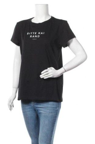 Γυναικείο t-shirt Bitte Kai Rand, Μέγεθος L, Χρώμα Μαύρο, 95% βαμβάκι, 5% ελαστάνη, Τιμή 14,55€