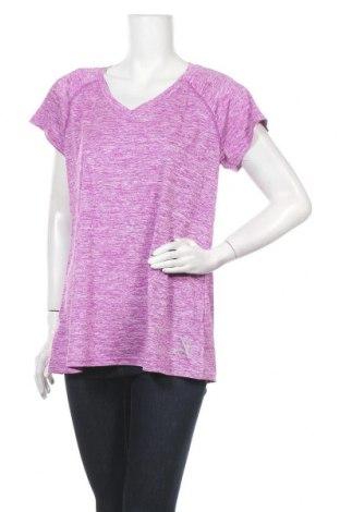 Дамска тениска Crivit, Размер L, Цвят Лилав, 100% полиестер, Цена 16,80лв.
