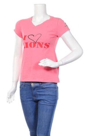 Дамска тениска Gilbert, Размер M, Цвят Розов, 95% памук, 5% еластан, Цена 10,29лв.