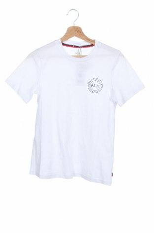 Дамска тениска Herschel, Размер XS, Цвят Бял, Памук, Цена 36,75лв.