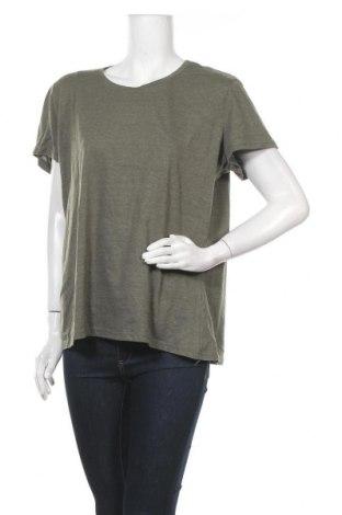 Дамска тениска Janina, Размер XXL, Цвят Зелен, 50% памук, 50% полиестер, Цена 10,92лв.