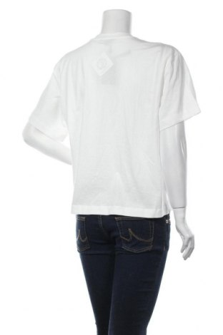 Дамска тениска Massimo Dutti, Размер M, Цвят Бял, Памук, Цена 15,40лв.