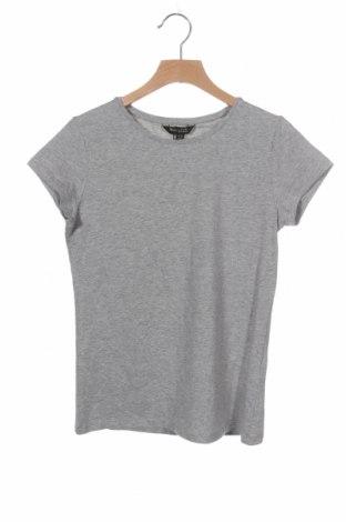 Дамска тениска Massimo Dutti, Размер XS, Цвят Сив, 92% памук, 8% еластан, Цена 20,65лв.
