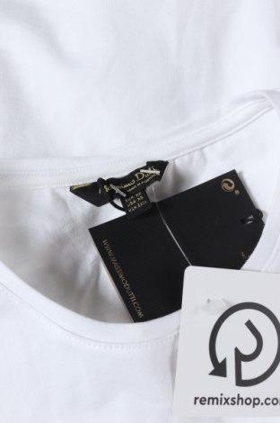 Дамска тениска Massimo Dutti, Размер XS, Цвят Бял, 92% памук, 8% еластан, Цена 17,15лв.