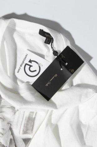 Дамска тениска Massimo Dutti, Размер S, Цвят Бял, Памук, Цена 18,20лв.