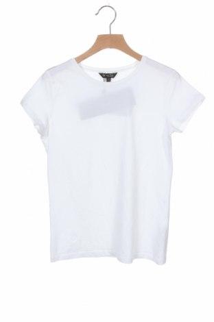 Дамска тениска Massimo Dutti, Размер XS, Цвят Бял, 92% памук, 8% еластан, Цена 12,25лв.
