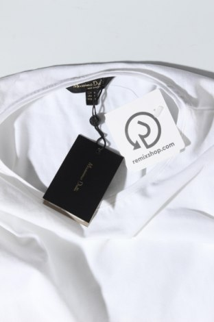 Дамска тениска Massimo Dutti, Размер M, Цвят Бял, 92% памук, 8% еластан, Цена 14,75лв.