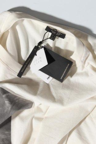 Дамска тениска Massimo Dutti, Размер M, Цвят Екрю, Памук, Цена 12,25лв.