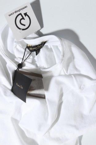 Дамска тениска Massimo Dutti, Размер S, Цвят Бял, 92% памук, 8% еластан, Цена 20,65лв.