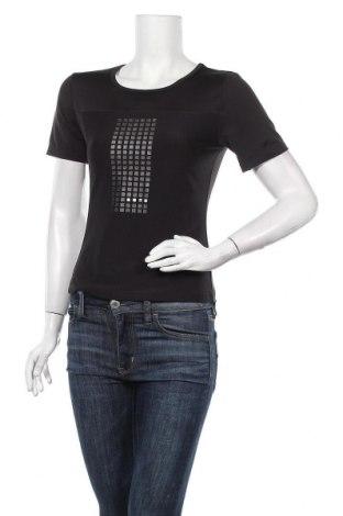 Дамска тениска Mexx, Размер L, Цвят Черен, 90% полиестер, 10% еластан, Цена 18,90лв.