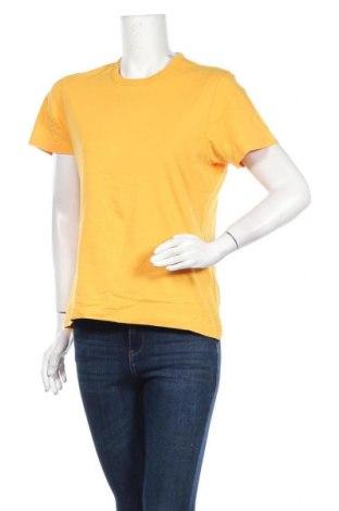 Дамска тениска S.Oliver, Размер S, Цвят Жълт, Памук, Цена 17,85лв.