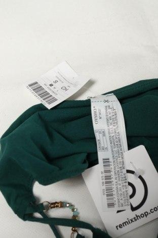 Дамски бански Oysho, Размер S, Цвят Зелен, 90% полиамид, 10% еластан, Цена 9,75лв.