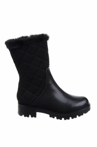Дамски ботуши CAFèNOIR, Размер 37, Цвят Черен, Еко кожа, текстил, Цена 105,91лв.