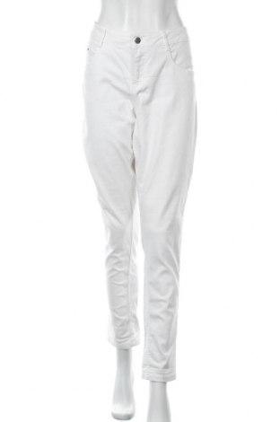 Дамски дънки, Размер XL, Цвят Бял, Цена 22,05лв.