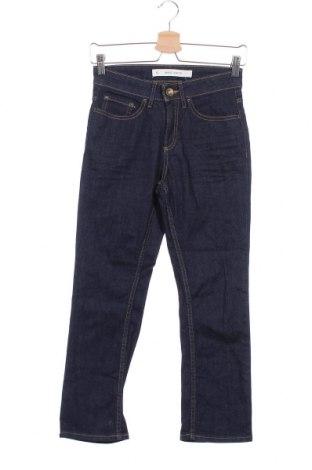 Дамски дънки, Размер XS, Цвят Син, Памук, еластан, Цена 8,06лв.