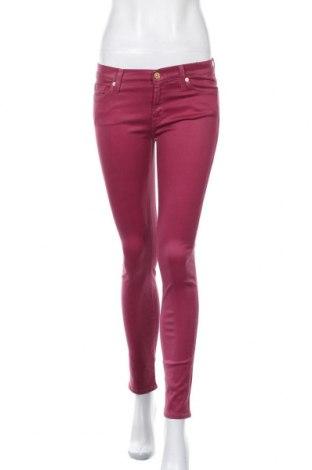 Γυναικείο Τζίν 7 For All Mankind, Μέγεθος S, Χρώμα Ρόζ , 98% βαμβάκι, 2% ελαστάνη, Τιμή 16,42€