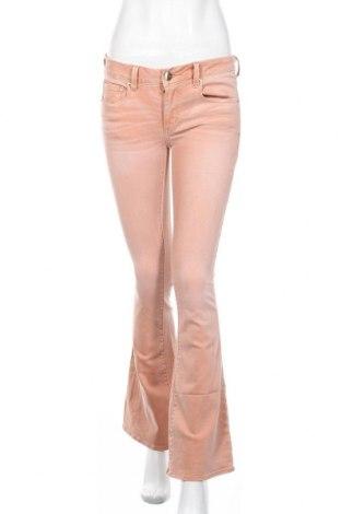 Дамски дънки American Eagle, Размер S, Цвят Оранжев, 91% памук, 7% полиестер, 2% еластан, Цена 9,70лв.