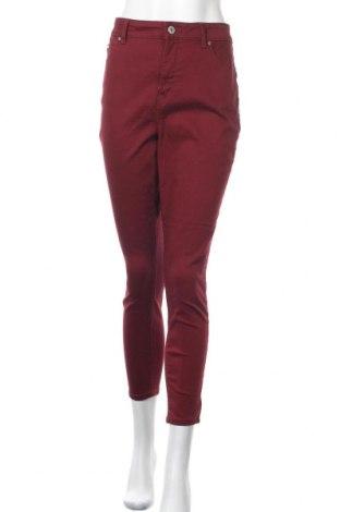 Дамски дънки Anko, Размер M, Цвят Червен, 90% памук, 8% полиестер, 2% еластан, Цена 15,02лв.
